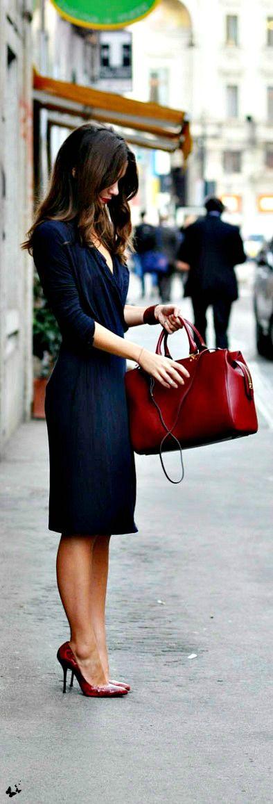 darker red heels