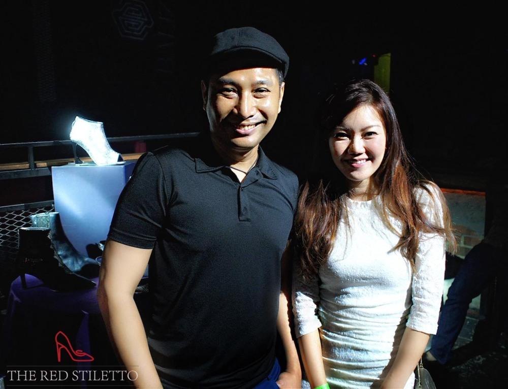With designer Mashizan Masjum